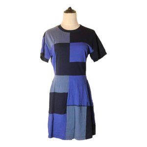 Dereklam 10 Crosby Patch work Dress